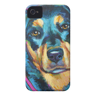 Adorable ROTTWEILER iPhone 4 Case-Mate Case