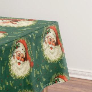 Adorable Santa Claus, Christmas Tablecloth