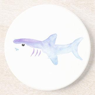Adorable Shark Coaster