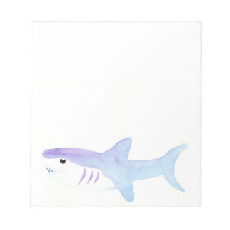 Adorable Shark Notepad