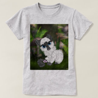 Adorable Siamese Fluffy Kitten T-Shirt