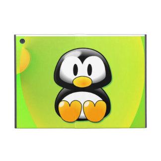 Adorable Sitting Cartoon Penguin iPad Mini Covers