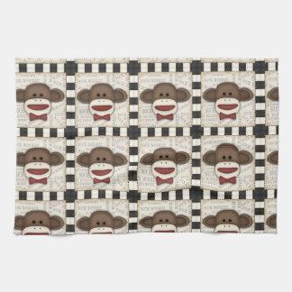 Adorable Sock Monkey Home Decor Items Kitchen Towel