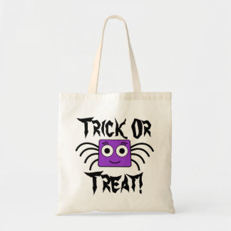 Adorable Spider Trick Or Treating Tote Bag