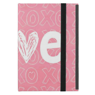 Adorable Splash of Pink Love Cases For iPad Mini