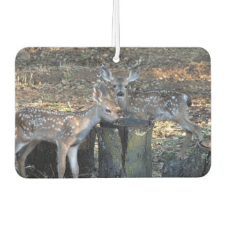 Adorable Spotted Fawns Car Air Freshener