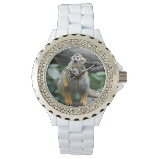 Adorable Squirrel Monkey Watch