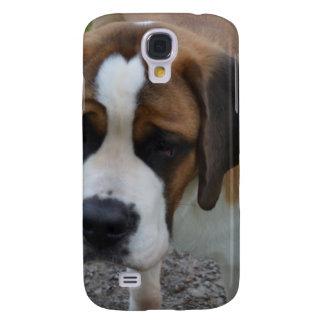Adorable St Bernard Samsung Galaxy S4 Cases