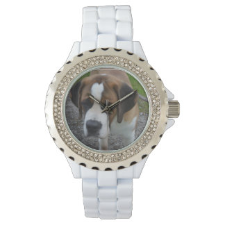 Adorable St Bernard Watch