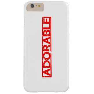 Adorable Stamp Barely There iPhone 6 Plus Case