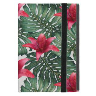 Adorable Tropical Palm Hawaiian Hibiskus Cover For iPad Mini