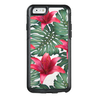 Adorable Tropical Palm Hawaiian Hibiskus OtterBox iPhone 6/6s Case