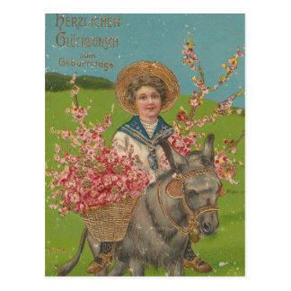 Adorable Vintage Postcard
