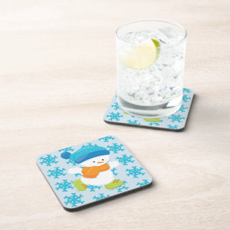 Adorable Winter Theme Snow Baby Snowman Coaster