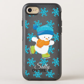Adorable Winter Theme Snow Baby Snowman OtterBox Symmetry iPhone 8/7 Case