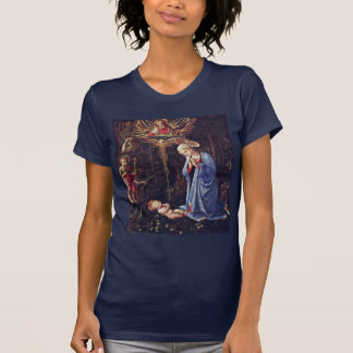 Adoration Of The Child And St. Bernard T Shirts