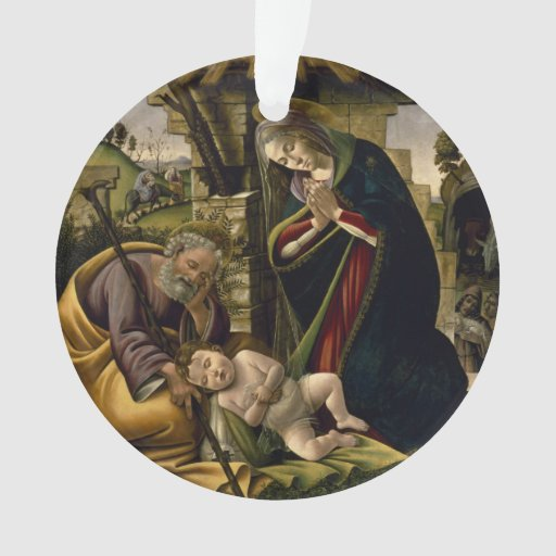 Adoration of the Christ Child by Botticelli
