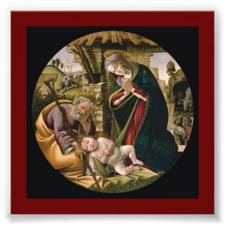 Adoration of the Christ Child Photo Art