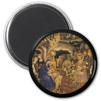 Adoration of the Magi 14th century Magnet