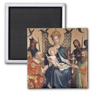 Adoration of the Magi altarpiece Magnet
