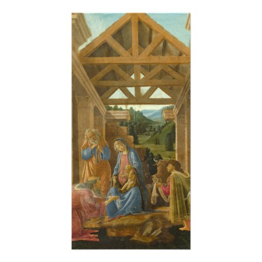 Adoration of the Magi by Botticelli Photo Card Template