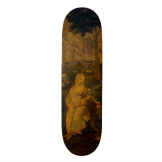 Adoration of the Magi by Leonardo da Vinci 21.6 Cm Old School Skateboard Deck