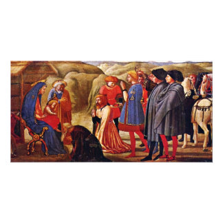 Adoration Of The Magi By Masaccio (Best Quality) Photo Card