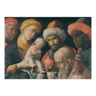 Adoration of the Magi, c.1495-1505 Poster