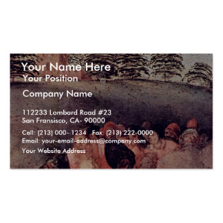 Adoration Of The Magi Detail By Pontormo Jacopo Pack Of Standard Business Cards