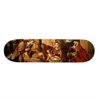 Adoration of the Magi - Greco Skate Deck