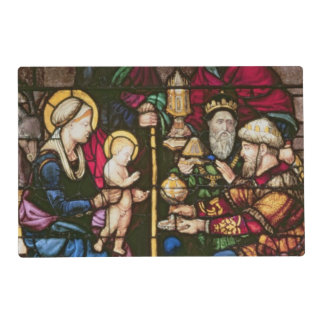 Adoration of the Magi Laminated Placemat
