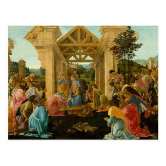 Adoration of the Magi Postcard