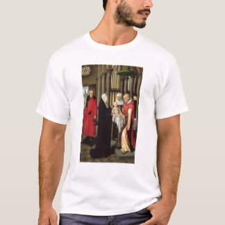 Adoration of the Magi: Right wing of triptych T-Shirt