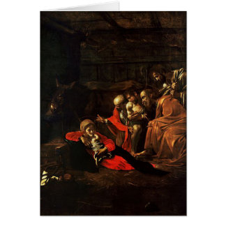 'Adoration of the Shepheds' Card