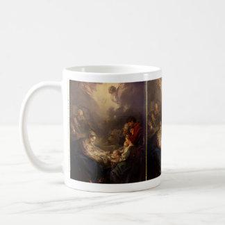 Adoration of the Shepherds   François Boucher Coffee Mug