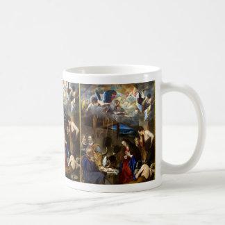 Adoration of the Shepherds|Juan Bautista Maino Coffee Mug