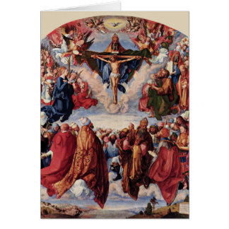 Adoration of the Trinity by Albrecht Durer, 1511 Card