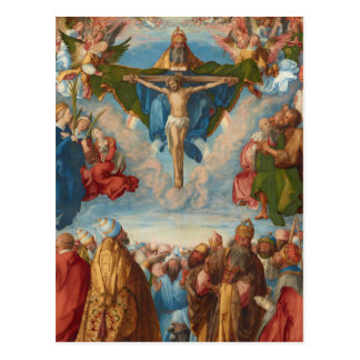 Adoration of the Trinity by Albrecht Durer, 1511 Postcard