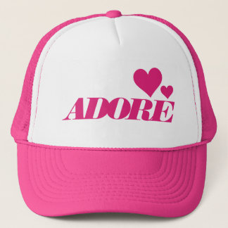 Adore Cotton Candy hat