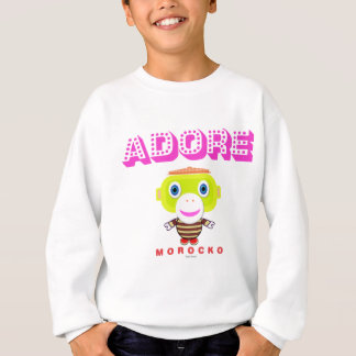 Adore -Cute Monkey-Morocko Sweatshirt