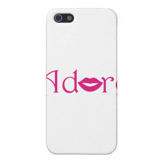 Adore with a Kiss Cover For iPhone 5/5S