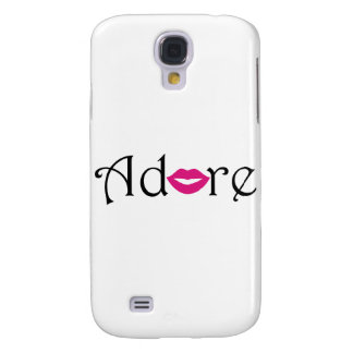 Adore with a Kiss Galaxy S4 Covers
