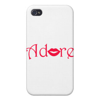 Adore with a Kiss iPhone 4/4S Cover
