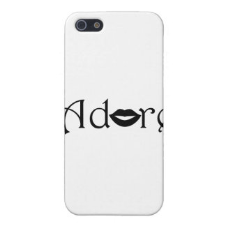 Adore with a Kiss iPhone 5/5S Covers