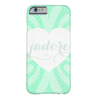 Adoring hearts and polka dots! barely there iPhone 6 case