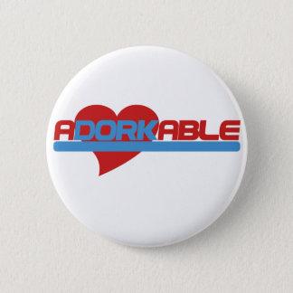 Adorkable Adorable Dork 6 Cm Round Badge