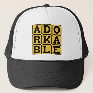 Adorkable, Adorable Dork Trucker Hat