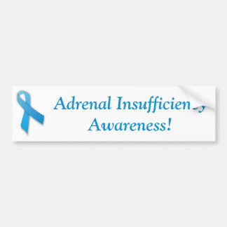 Adrenal Insufficiency Awareness Bumper Sticker