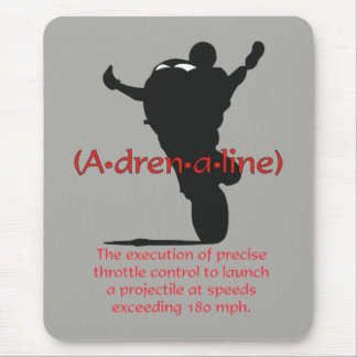 Adrenaline Mouse Pad