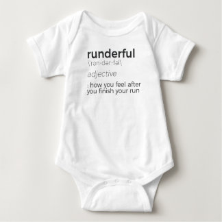 Adrenaline Rush Runner's High Running Is Life Run Baby Bodysuit